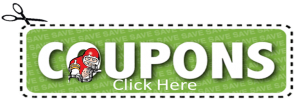 coupon with logo