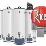 NEW WATER HEATER RHEEM