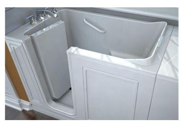 Walk in tub provided by the Plumbing Pro