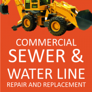 COMMERCIAL SEWE AND WATER LINE