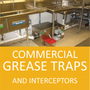 GREASE TRAPS BUTTON LARGE