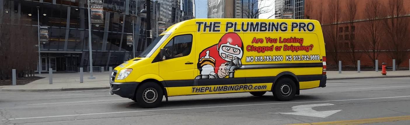 new plumbing pro van at the sprint center kansas city mo