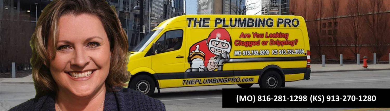 Danas plumber full width banner with van
