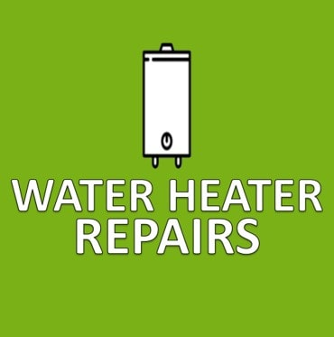green water heater repairs button