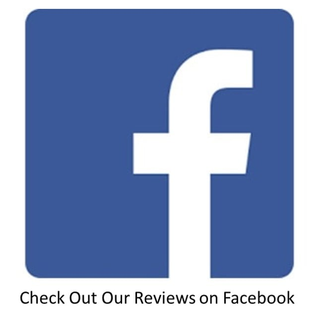 Check out our reviews on Facebook