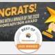 Best of 2020 HomeAdvisor Award